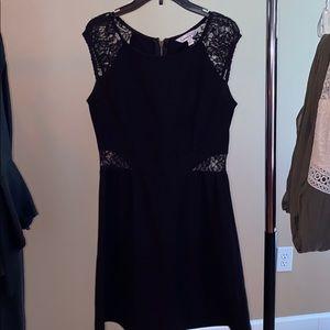 adorable black some lace dress